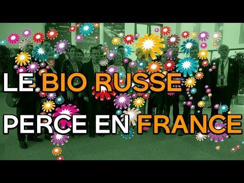 Le bio russe perce en France
