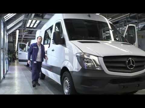 production - Mercedes-Benz Sprinter (Production) (2014) Video: ComSat Media Music: original audio Web: http://www.busevi.com/ Photo: http://www.busevi.com/photo/mercedes-...