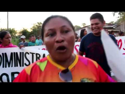 Protesto em Santa Isabel do Rio Negro - Parte 1
