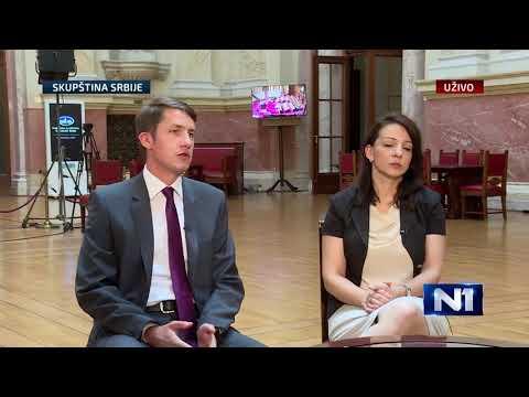 Tema Jutra - Gosti emisije: Balint Pastor i Marinka Tepić-cover