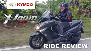 5. Kymco XTown 300i Ride Review