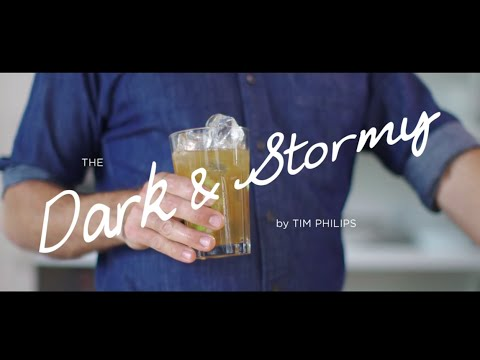 World Class Classic Cocktails at Home with Tim Philips - Dark & Stormy
