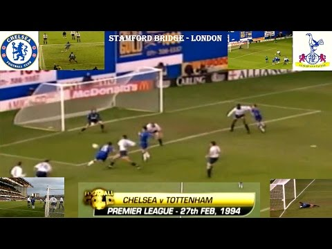 CHELSEA FC V TOTTENHAM  HOTSPUR FC - 4-3 - 27TH FEBRUARY 1994 - STAMFORD BRIDGE