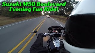 10. Suzuki Boulevard M50 Evening Fun Ride