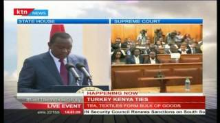 President Uhuru Kenyatta's [Full Speech] During Turkey's Presidential Visit To Kenya