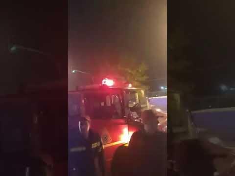 Video - Θεσσαλονίκη: Yπό μερικό έλεγχο η φωτιά στο Ολυμπιακό Μουσείο