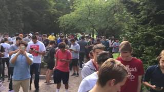 Pokemon Go Downtown Bellevue Park AERODYCTYl July 16 2016 by Take a Break with Aaron & Mo