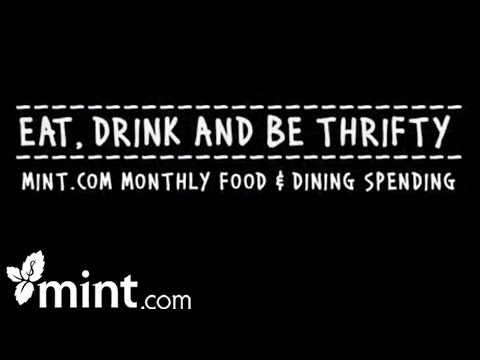 Eat, Drink and Be Thrifty – Track Your Spending With Mint Personal Finance Software