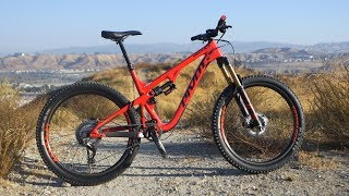 Image: First Ride 2018 Pivot Mach 5.5 - Mountain Bike Action Magazine