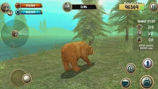 Wild Bear Simulator 3D Android Gameplay #7