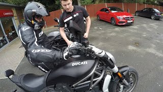 8. 2017 DUCATI DIAVEL X & DIAVEL CARBON, Test ridden by my Bro and I, also featuring a Super Leggera