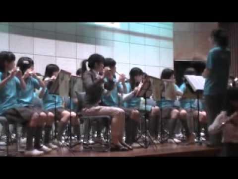 港南台第一中学校 吹奏楽部 演奏会 2014年3月29日