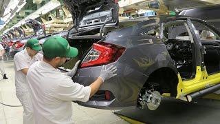 Video 2017 Honda Civic Sedan - PRODUCTION MP3, 3GP, MP4, WEBM, AVI, FLV Desember 2018