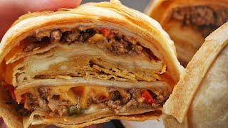 Crunchy Taco Ring by Tasty