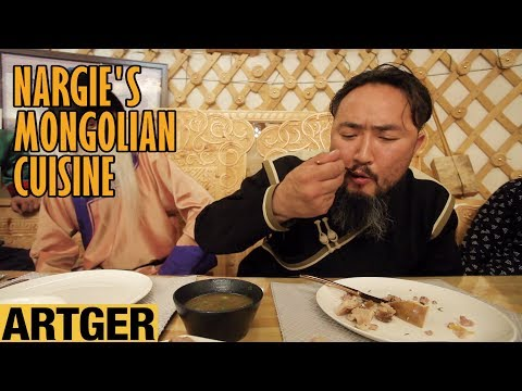 Nargie's Mongolian Cuisine: WHITE BIRD - SHEEP TAIL (Mongolian Traditional Food)