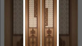 Puja Door Design, Pooja room doors, carving doors design