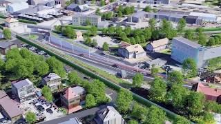 Wiadukt lub tunel - są dwa warianty przebudowy ul. Gdańskiej w Kartuzach