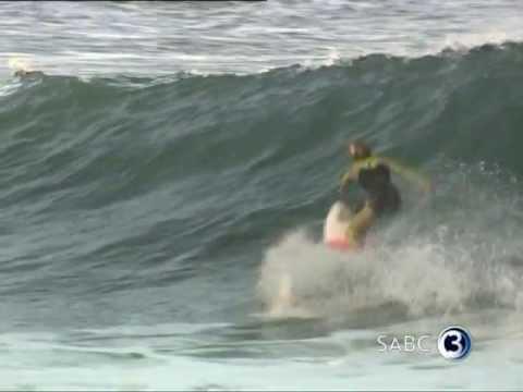 Surfing sensation Bianca Buitendag