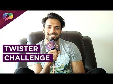 Shaleen Malhotra takes up the 'Twister Challenge'