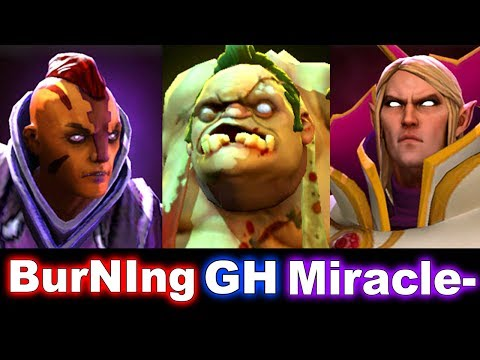 Liquid vs iG - BurNIng AM, Miracle- Invoker-, GH Pudge - Starladder 2 DOTA 2