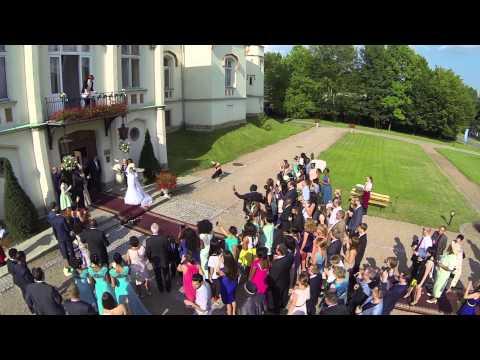 Ślub z lotu ptaka