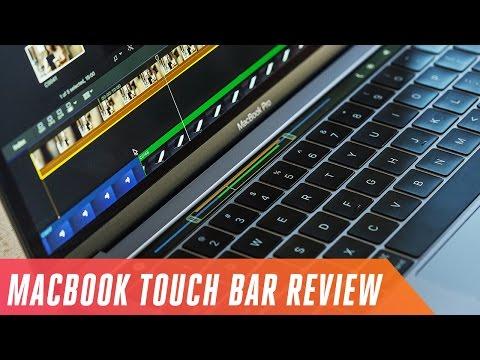 MacBook s touchbar-om (mini recenzia)