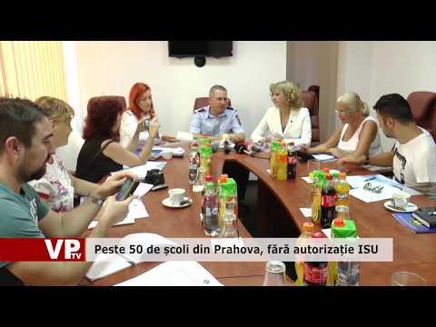 Peste 50 de școli din Prahova, fără autorizație ISU