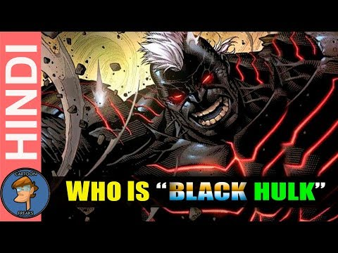 Who Is Kluh The Black Hulk | The Most Dangerous Hulk Origin Explain In Hindi | Cartoon Freaks