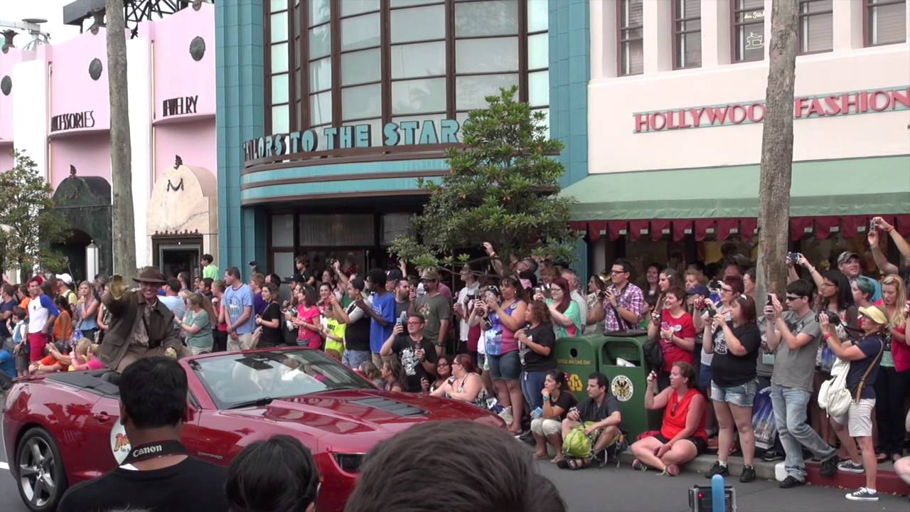 Disney's Hollywood Studios 25th Anniversary motorcade