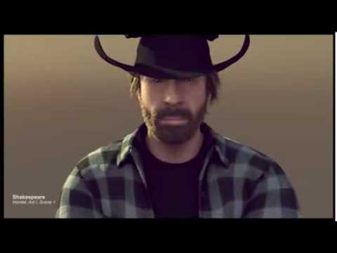 Santa Claus sends a wish list to Chuck Norris every Christmas... [video]