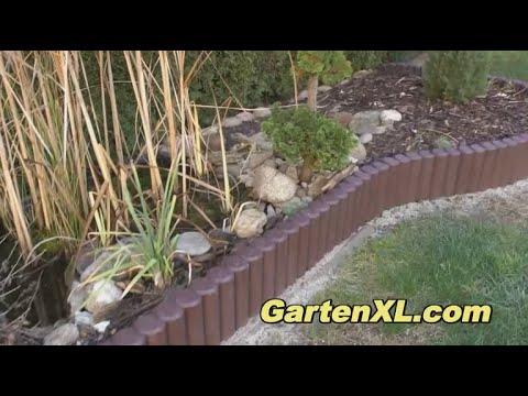 Palisaden im Garten einbauen