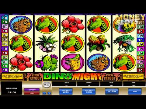 Dino Might Video Slots Review | MoneySlots.net