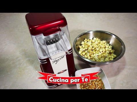 Macchina PopCorn Ariete - la video Recensione