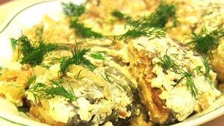Караси в сметане:Рецепты из рыбы -VIKKAvideo