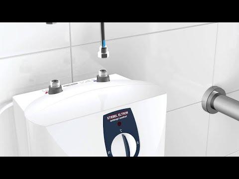Installationsanimation: Kleinspeicher SNU 5 SL