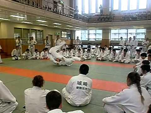 Kodokan Training Tomoe Nage