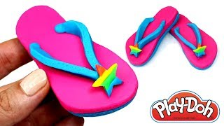 Video Play Doh Flip Flops How to Make Girls Flip Flop Sandals Play Doh Learn Colors Easy & Fun for Kids MP3, 3GP, MP4, WEBM, AVI, FLV Agustus 2017