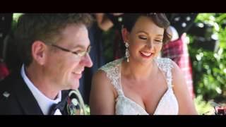 Sally + Peter - A Traditional Scottish Wedding Complete with a Family Dance-Off