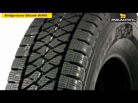 Youtube Bridgestone Blizzak W995 225/65 R16 C 112 R Zimní