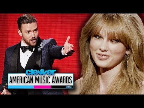 Taylor Swift & Justin Timberlake Steal the Show- American Music Awards 2013 Winners Recap