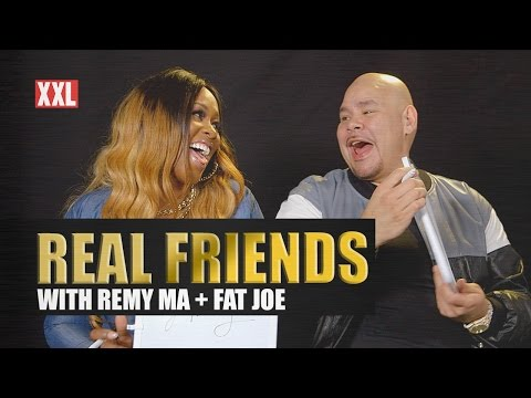 ARE THEY REAL FRIENDS? FAT JOE AND REMY MA