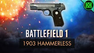 Battlefield 1 (BF1): Here's my 1903 Hammerless Guide/Review, including info, tips for using it best, gun stats + m1903 Hammerless Gameplay. (Battlefield 1 Colt 1903 Pocket Hammerless Gameplay shown) BF1 PS4 Pro GameplayBattlefield 1: 1903 Hammerless Review (Weapon Guide)  BF1 Colt 1903 Hammerless GameplayStats Reference: http://symthic.com/The 1903 Hammerless can be equipped on an assault loadout as a secondary. (PS4 Pro BF1 Gameplay)Facebook:  https://www.facebook.com/kriticalkrisTwitter:  https://twitter.com/KriticalKrisMusic:Intro:Krale - Frontier (ft. Jasmina Lin & Jay Christopher) [NCS Release]http://www.youtube.com/watch?v=pGMojZB0Lm0Check out my channel: KriticalKris Channel : https://www.youtube.com/channel/UC5d9SQiZzg7qFcqF0xTOFXQ/feedhttps://youtu.be/T-QeSoebmOA