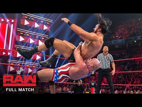 FULL MATCH - Kurt Angle vs. Drew McIntyre: Raw, Nov. 5, 2018