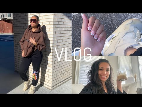 RUN ERRANDS WITH ME + NEW NAILS + TACO DATE W/ KEKE + MORE VLOG | Briana Monique'