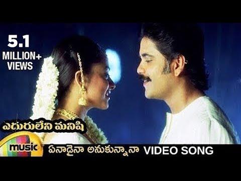 Video Eduruleni Manishi Telugu Movie Songs | Enadaina Anukunnana Video Song | Nagarjuna | Soundarya download in MP3, 3GP, MP4, WEBM, AVI, FLV January 2017