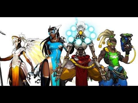 Overwatch летсплей | игры про будущее