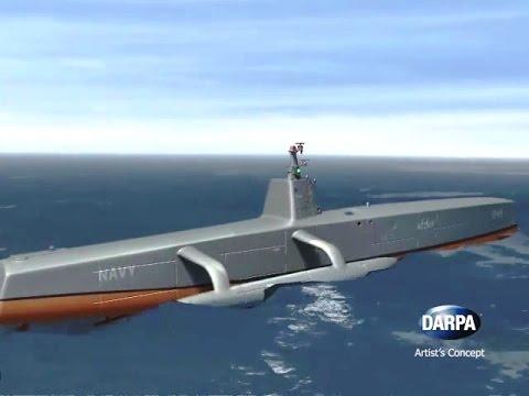 US-Militär testet Autonomes Schiff