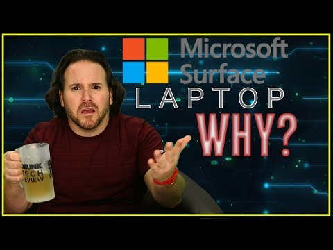 Microsoft Surface Laptop - Impressions - Drunk Tech Review
