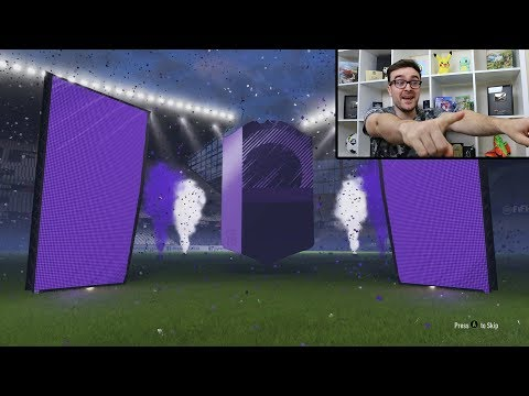 MY FIRST FUT CHAMPS REWARDS!!! Fifa 18 Pack Opening (видео)