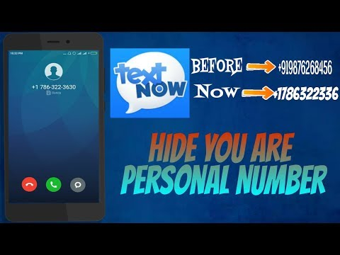 How To Hide Your Private Number